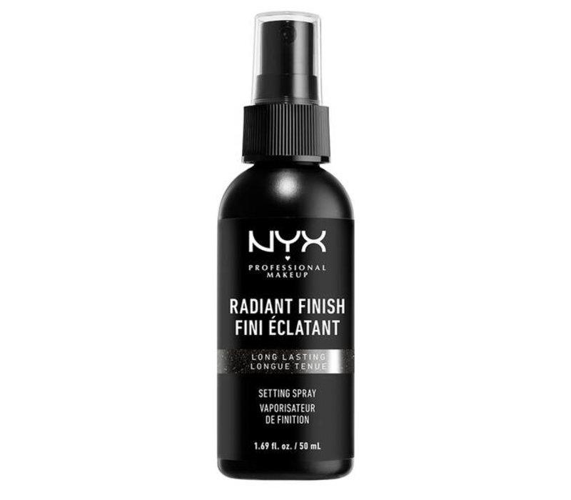 NYX Cosmetics Makeup Radiant Finish Setting Spray