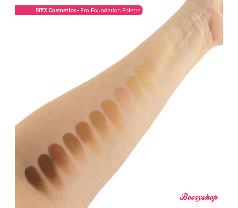 NYX Professional Makeup Pro Foundation Palette