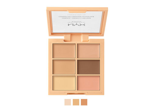 NYX Professional Make Up 3C Palette Conceal, Correct, Contour