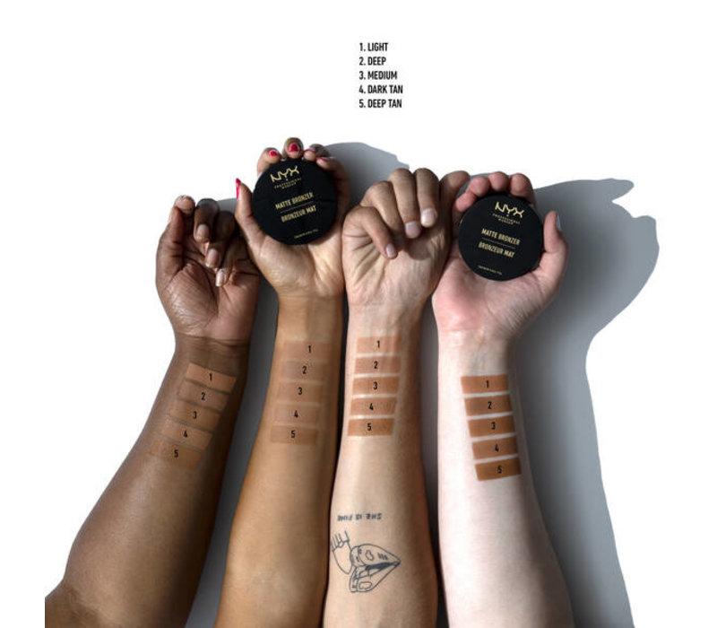 NYX Cosmetics Matte Body Bronzer Light