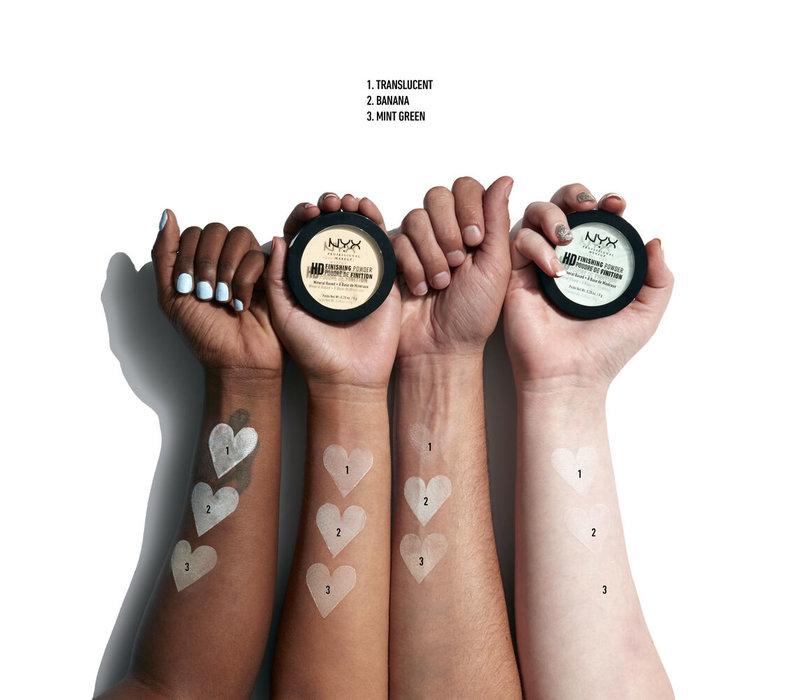 NYX Cosmetics High Definition Finishing Powder Banana