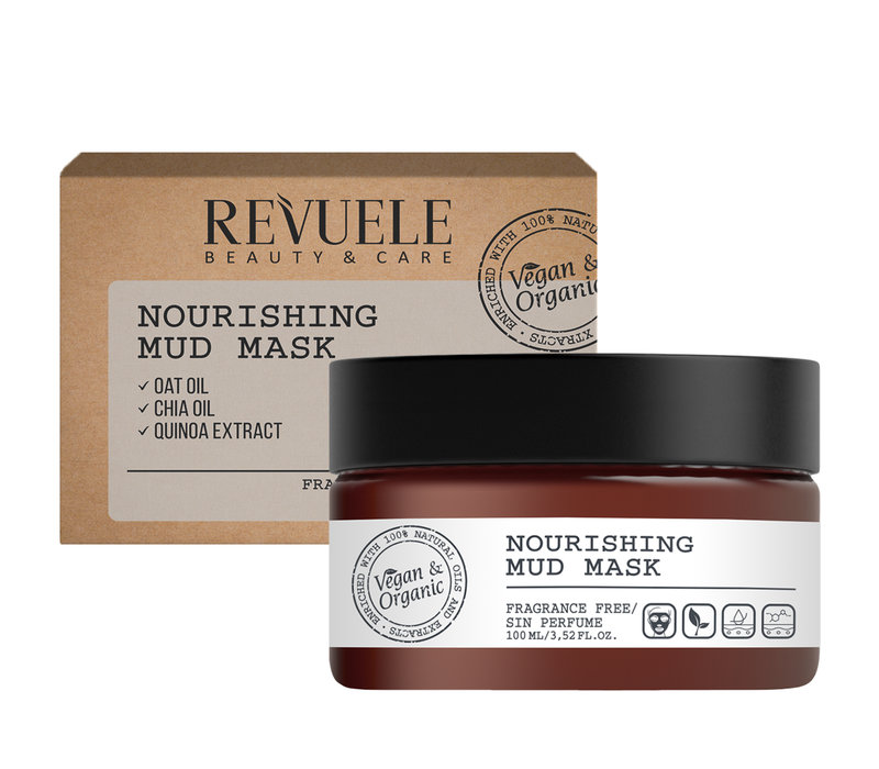 Revuele Vegan & Organic Nourishing Mud Mask