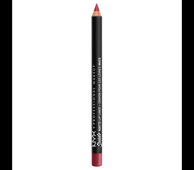 NYX Cosmetics Suede Matte Lip Liner Cherry Skies