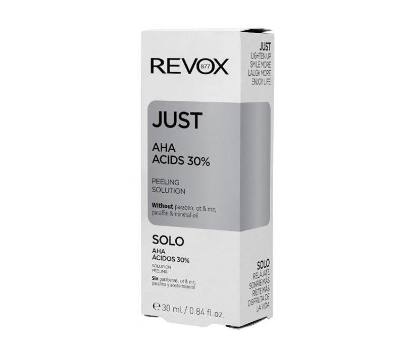 Revox Just30% AHA Acids Peeling Solution