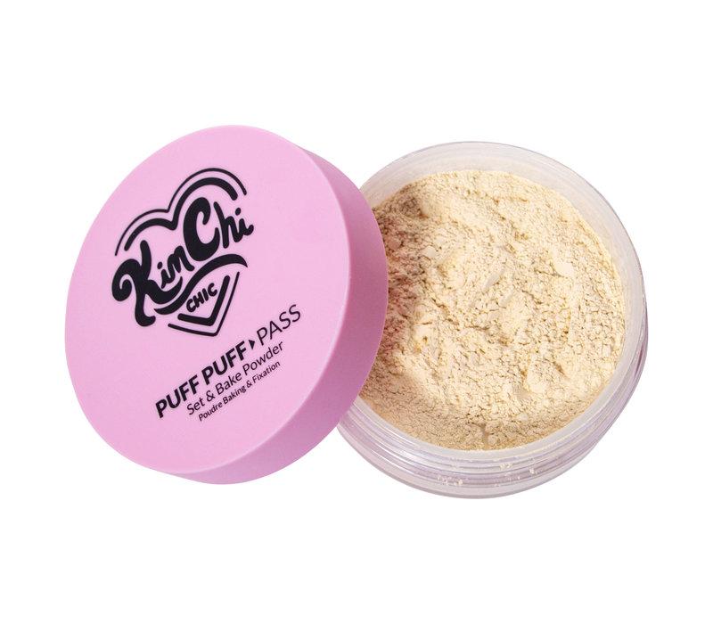 KimChi Chic Beauty Puff Puff Pass Set & Bake Powder Translucent