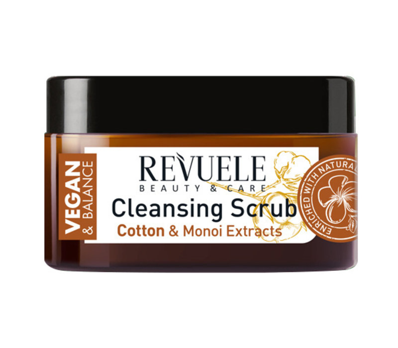 Revuele Vegan & Balance Cleansing Body Scrub