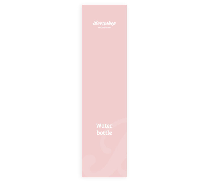 Boozyshop Soft Pink Water Bottle