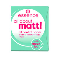 Essence All About Matt! Oil Control Paper