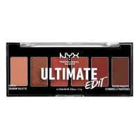 NYX Professional Makeup Ultimate Edit Petite Eyeshadow Palette Warm Neutrals