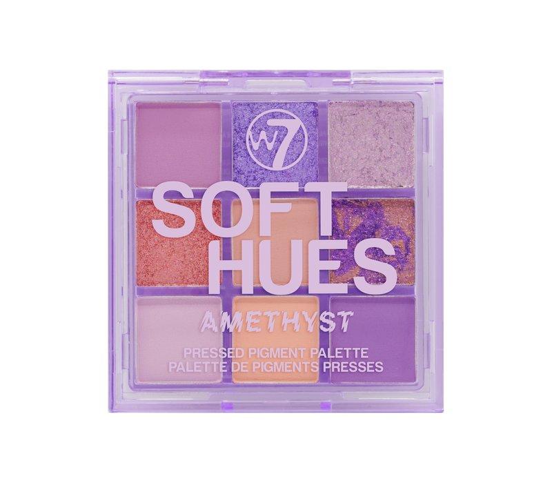 W7 Cosmetics Hues Pressed Pigment Eyeshadow Amethyst