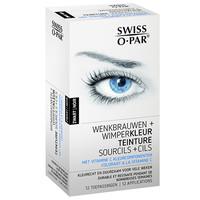 Swiss O-Par Wenkbrauw- en wimperkleur Zwart