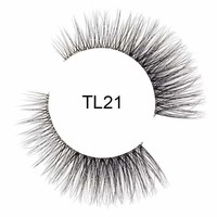 Tatti Lashes 3D Brazilian Silk Hair TL21