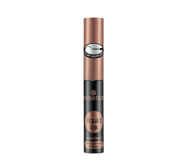 Essence Liquid Ink Eyeliner Waterproof Brown