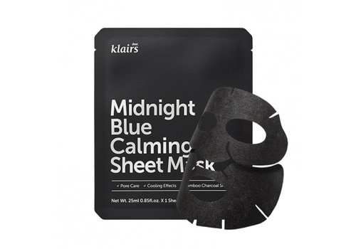 Dear Klairs Midnight Blue Calming Sheet Mask