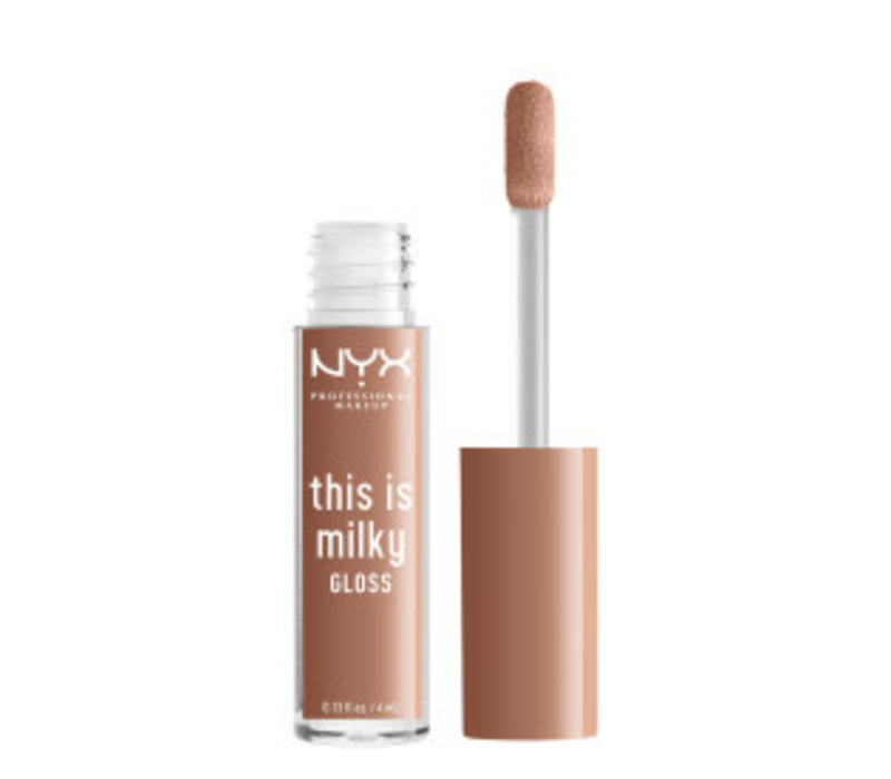 NYX Professional Makeup This is Milky Gloss Cookies & Milk