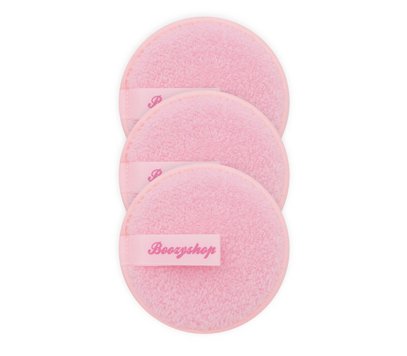 Boozyshop 3 Pack Makeup Remover Pads