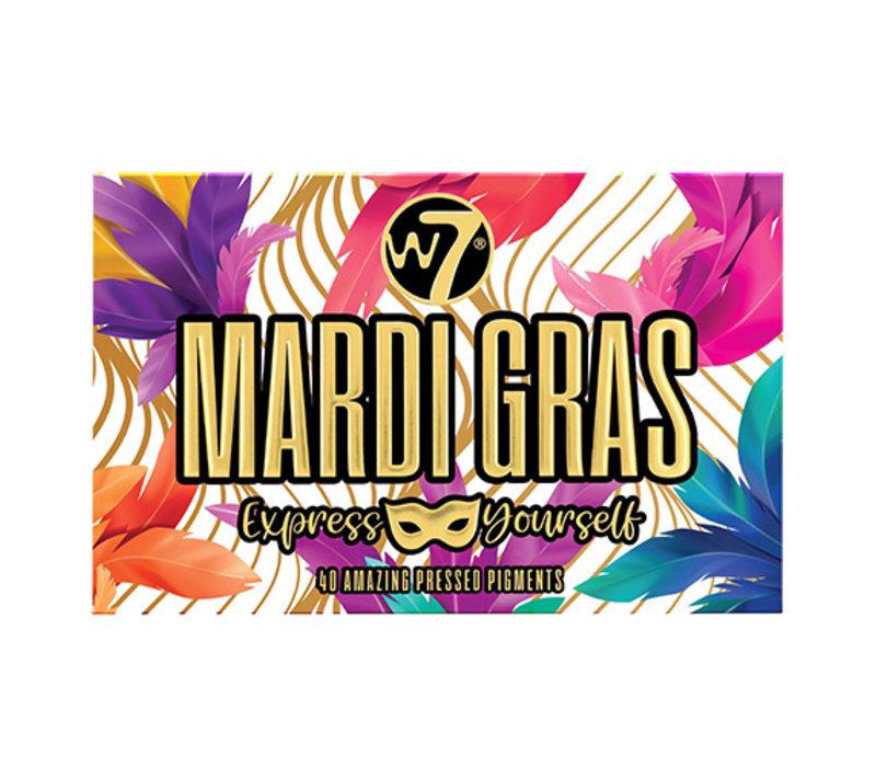 W7 Cosmetics Mardi Gras Pressed Pigment Palette