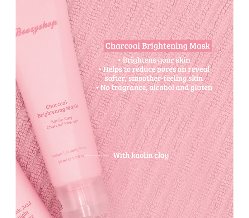 Boozyshop Charcoal Brightening Mask