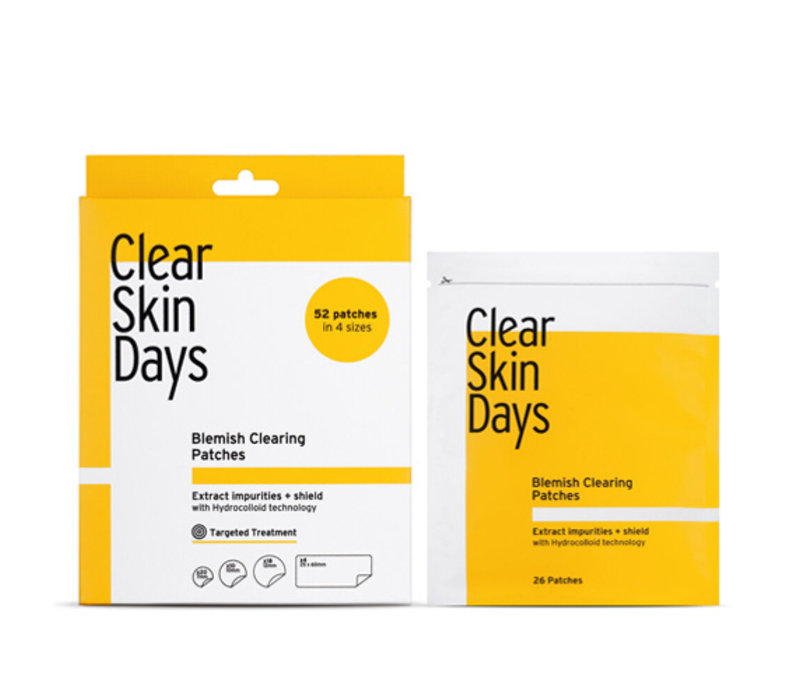 ClearSkinDays Clear Up Patches