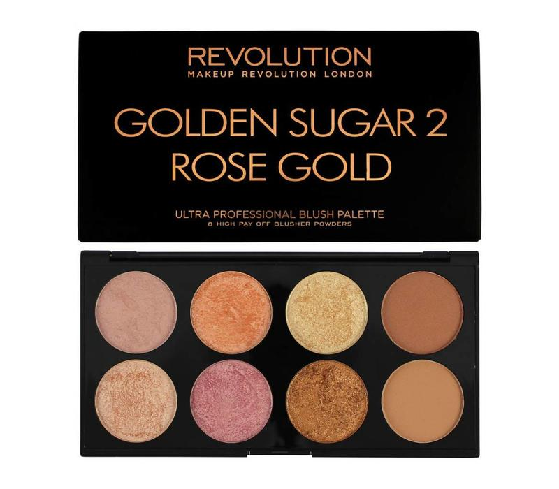 Makeup Revolution Golden Sugar 2 Rose Gold Palette