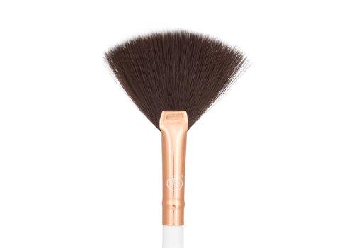 Boozy Cosmetics Rose Gold 3400 Precision Fan Brush