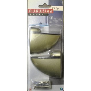 Duraline Duraline Select Clip  planchet of plankendrager champange