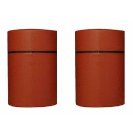 Duraline Tube warm rood planchet/plankendrager