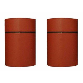 Duraline Plankendrager Duraline  Tube warm rood planchet/plankendrager
