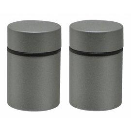 Duraline Tube mat silver planchet/plankendrager