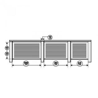 Cando Chester Cando radiatorombouw, is een strak model decorpaneel, maak een mooi geheel.