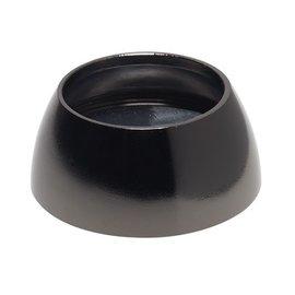 Intensions 2- Roede steun halfrond 20 mm zwart nikkel