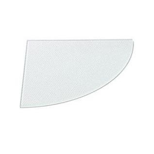 Duraline Hoekplanchet van Duraline. De planchet heeft veiligheidsglas en is geschikt voor elke ruimte in uw huis.