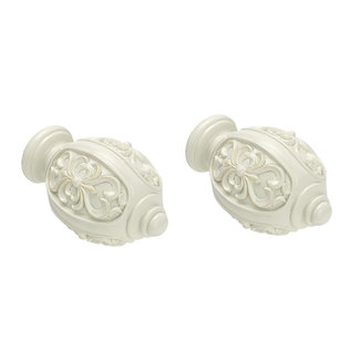 Intensions Eindknoppen Elena oud wit 2 stuks 20 mm Intensions Classic