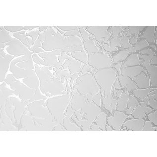 Duraline Hoekplanchet van Duraline met veiligheidsglas, het motief is Ice  30x30