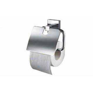 Mezzo Toiletrolhouder met klep Mezzo chroom