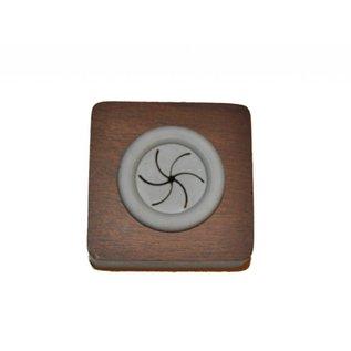 Haceka Haak druksysteem, het werkt heel simpel handdoek theedoek poetsdoek druk in het systeem en hij hangt