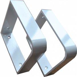 Duraline Angular small Geborsteld staal 10x12 cm