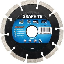 Graphite Diamantschijf Segment 125 mm