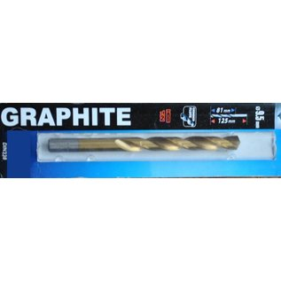 Graphite Graphite Metaalboor HSS TIN 9,5 mm