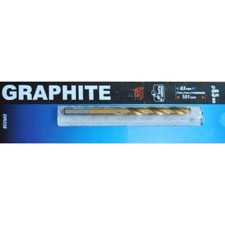Graphite Graphite Metaalboor HSS TIN 6,5 mm