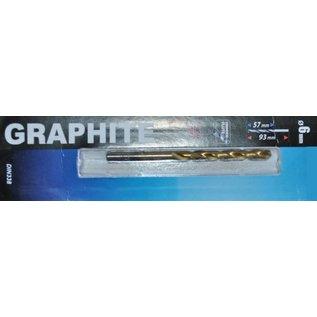 Graphite Graphite Metaalboor HSS TIN 6 mm