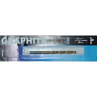 Graphite Graphite Metaalboor HSS TIN 5 mm