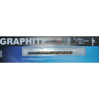 Graphite Graphite Metaalboor HSS TIN 4,5 mm