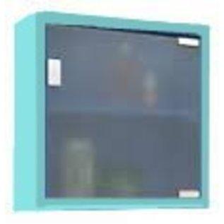 Haceka Cabinet Kubus kastje Fun Badkamermeubel Badkemerkastje medicijnenkastje Aqua