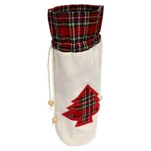 Bottle bag - Christmas tree