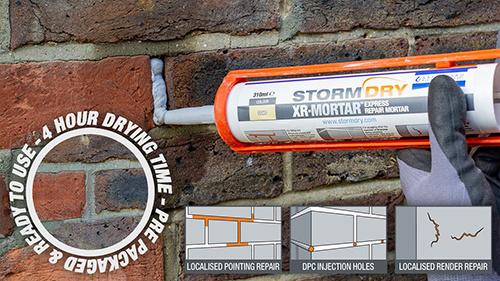 Nieuw: Stormdry XR Mortar