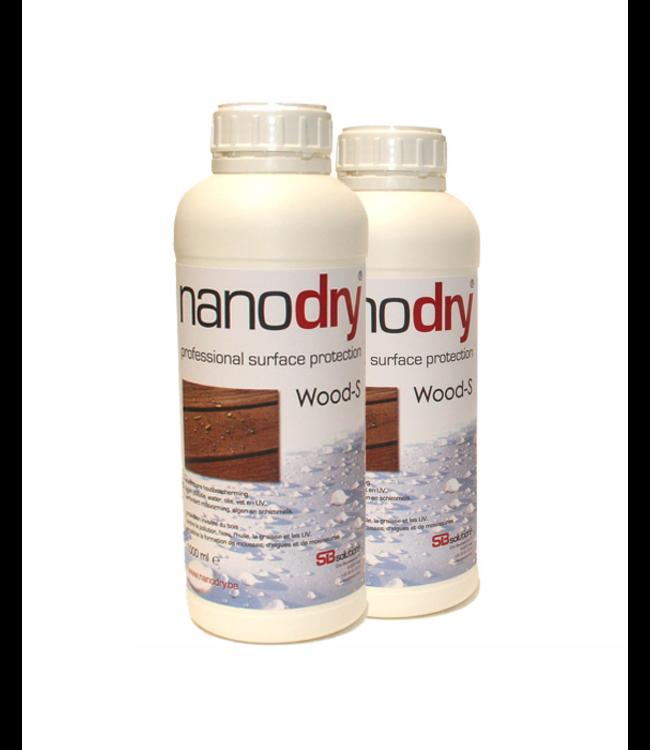 NANODRY NANODRY WOOD-S pack 2 x 1L