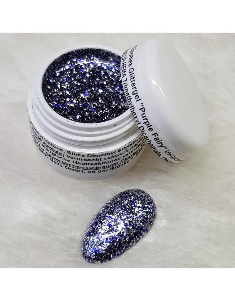 Noble Chromes Glittergel Purple Fairy 5ml