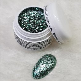 Precious by MPK Nails® Noble Chromes Glittergel Green Wonder 5ml