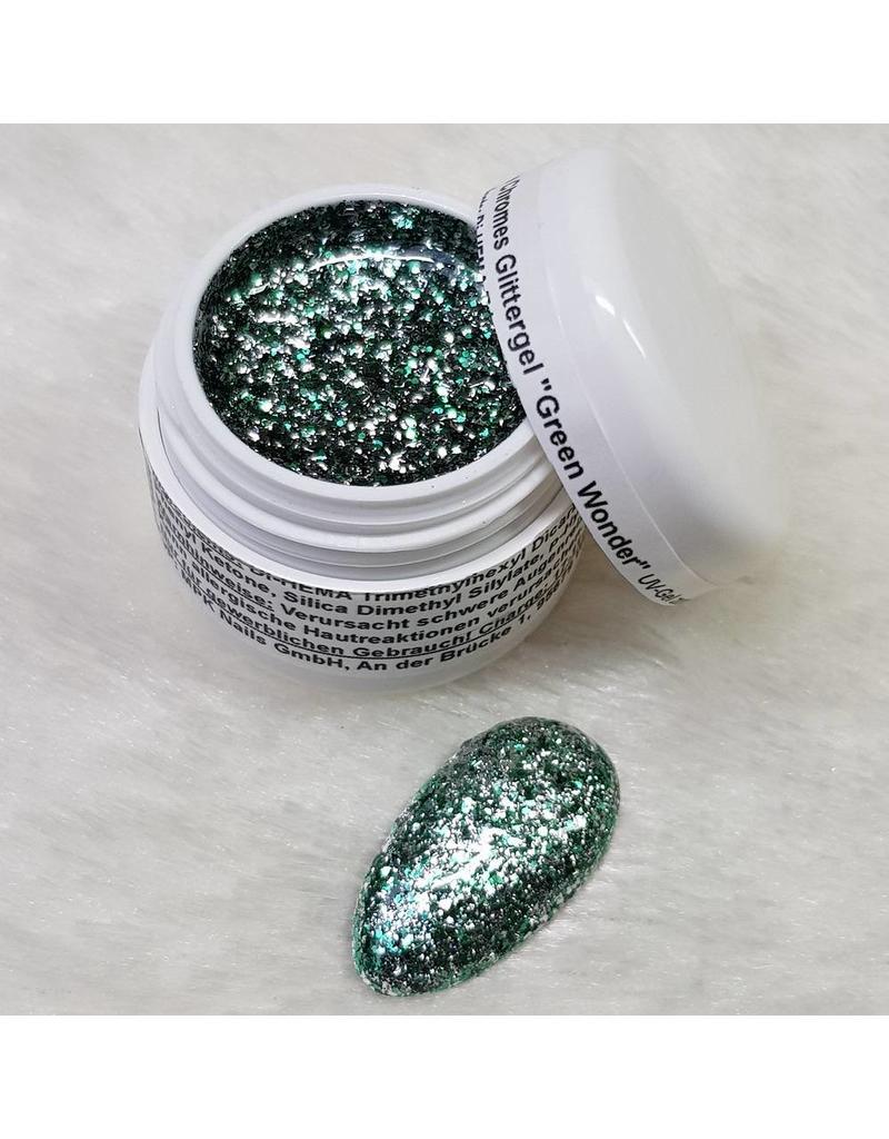 Precious by MPK Nails® Noble Chromes Glittergel Green Wonder 5ml